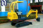 0.4-0.52 m3  Hydraulic Crawler Excavator With ISUZU Engine 13.8T Operating Weight