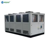 Air-cooled Industrial Chiller 250 Kw Water Chiller For Food Processing Machine