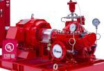 Motor Driver Split Case Fire Pump Set With SS 304 Impeller 50hz-400v