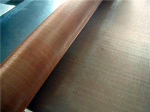 China 60×50 22 SWG heavy gauge wire mesh , anti - static Brass Wire cloth on sale