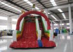 Inflatable Rutsche Kids Blow Up Water Slide , Colourful Water Bounce House
