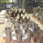 titanium Tee,titanium elbow and titanium flange pipe fitting,titanium reducer gr2,gr1,gr5