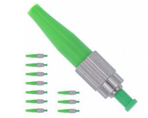 China Quick Fiber Optic Connectors APC 0.9mm Ceramic Ferrule 850 - 1310nm Wavelength on sale