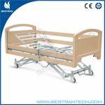 Electric Adjustable Medical Beds / Nursing Home Beds Central-controlled Braking