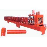 Red Color Smart Sheet Metal Forming EquipmentWith High Capacity Manual Uncoiler