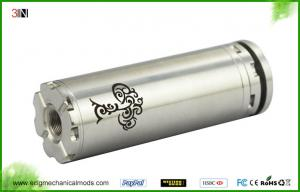 China 510 / Ego Thread SS Mechanical Mod , Tree of Life 26650 Smooth Airflow Mech Mod on sale