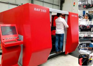 China Laser Metal Cutting Machine for 5mm to 8mm , Effective Cutting Size 1500*3000 on sale