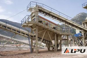 China High Capacity 2 Layer Vibrating Screening Machine For Iron Ore on sale