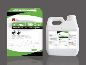 China Albendazole 10% oral suspension on sale