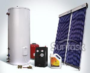 China Calentador de agua solar a presión fractura con SRCC, Keymark solar on sale