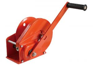 China Small Hand Lifting Winch 1200lb For Automobile / Manual Hand Winch on sale
