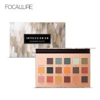 Focallure New High Pigment 18 Colors Diamond Pressed Eyeshadow Palette Make Up Cosmetic