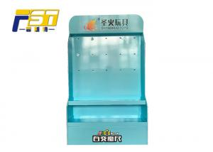China Creative Full Color POP Cardboard Display Boxes Moistureproof With 24 Metal Hooks on sale
