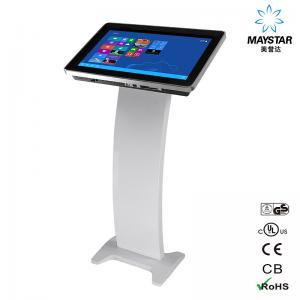 China Indoor LCD Touch Screen Monitor Interactive Screens 1080p For Business on sale