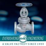 Válvula de globo de aço forjada elétrica pneumática