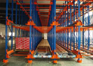 China Powder Coating Pallet Runner System , Automated Racking System High Pallets Turnover Efficiency on sale