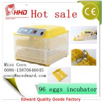 Cheap Mini Poultry Full automatic poultry egg incubator setter hatcher transparent For Sale with CE Approved