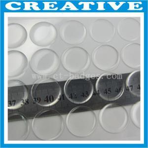 China 25mm clear dome epoxy sticker on sale