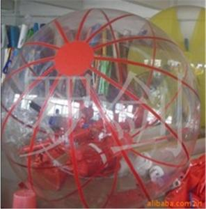 China Durable Outside Thrilling PVC Inflatable Water Game Toys for Adults on sale