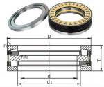 829784K/BFDB 353200HA3/545991 Tapered roller thrust bearing,double direction
