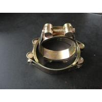 China Double bolts hose clamp on sale