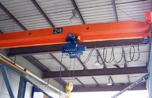 China Warehouse Single Beam Overhead Crane 0.5 Ton - 20 Ton With Soft Start Motor on sale