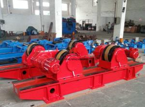 China 10 Tons Tank Welding Rotators Bolt Adjustable For Tank / Vessel Welding on sale