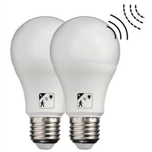 China Cool White Smart LED Automatic Sensor Light Bulb Non Dimmable SMD2835 Chip on sale