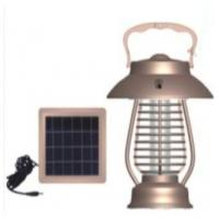 Solar Mosquito Killer with LED Camping Lamp