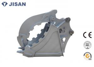 China Durable Excavator Grab Bucket Hyundai R210 Great Clamping Force Hydraulic Power on sale