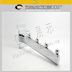 China fashion shop store&supermarket chrome metal clothes display hook on sale