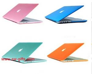 China Cool Frosted Surface Matte hard Cover Case For Macbook Air 11 12''Laptop Case Cutout Logo on sale
