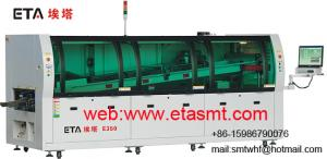 China PC control Auto Wave solder machine on sale