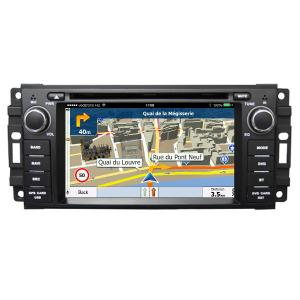 China 6.2 Inch Touch Screen Car Radio Dvd Player / Dvd Gps Navigation System For Jeep on sale