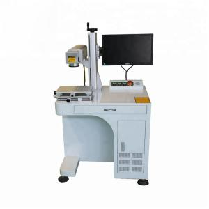 China Desktop Fiber Laser Engraving Cutting Machine For Deep Engraving on sale