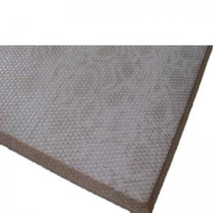 China Fireproof Material Music Room Acoustic Fabric Panels / Sound Absorption Board on sale