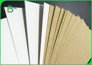 China Food Grade White Coated Kraft Back Board 250GSM 270GSM For Packing Fruits wholesale