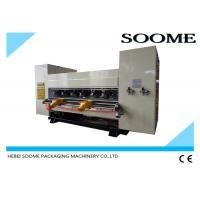 China NC Type Online Thin Blade Slitter Scorer Machine For Corrugated 150-180m/Min Speed on sale