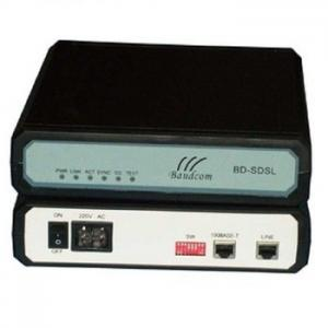 China 2-wire 2.3Mbps Ethernet bridge SDSL modem with WAN + LAN up to 3.29km in 24AWG on sale