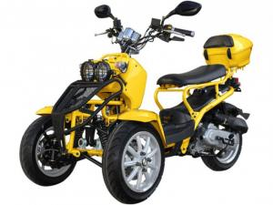 Trike 50cc 3 Wheel Scooter Moped Trike Scooter For Sale