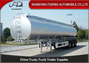 China Spring suspension 55000 Liters fuel tanker FUWA axles 12 tires on sale