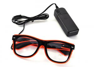 China Blinking Glasses Light Up Flashing LED Glasses El Wire for Party Concert on sale