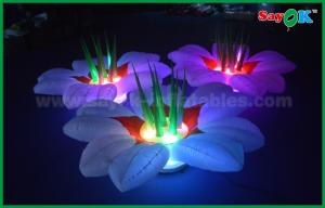 China Wonderful Wedding Stage Inflatable Lighting Decoration Flower Chain on sale