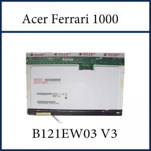China 12.1 W LCD CCFL LAPTOP LCD SCREEN B121EW03 V3 FOR ACER Ferrari 1000 LAPTOP on sale