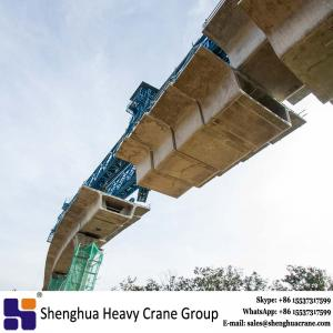 China Truss type 1000 ton segment launching girder gantry on sale