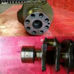 Length 960mm Diesel Engine Crankshaft 6SA1 Alloy Steel Crankshaft 1-12310-503-2