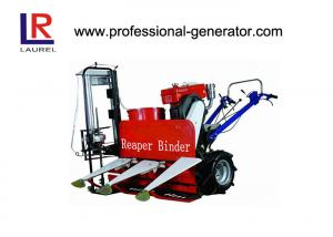 China 8HP Wheat Reaper Binder Mini Wheat Reaper Binder with 180 water cooling diesel engine on sale