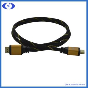 China PH-HD260060 of hdmi cable with nylon net on sale