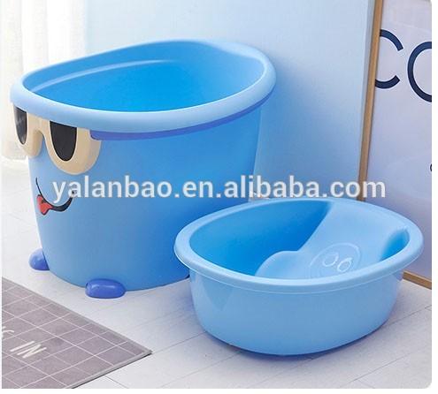 Mini Baby Hot Tub With Seat Plastic Portable Bathtub Food