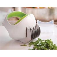 Manual Vegetable Slicer Chopper , Stainless Steel Blades Plastic Cutter